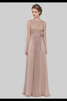 DRESSCODE CHIFFON BRIDESMAID DRESS WITH PEARLS