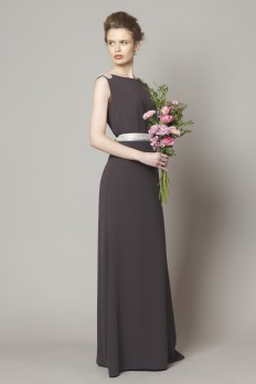 grey dresscode bridesmaids dresses