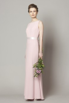 light pink bridesmaid dress from dresscode