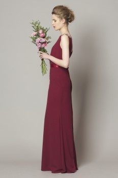 mulberry dresscode bridesmaid dresses crepe