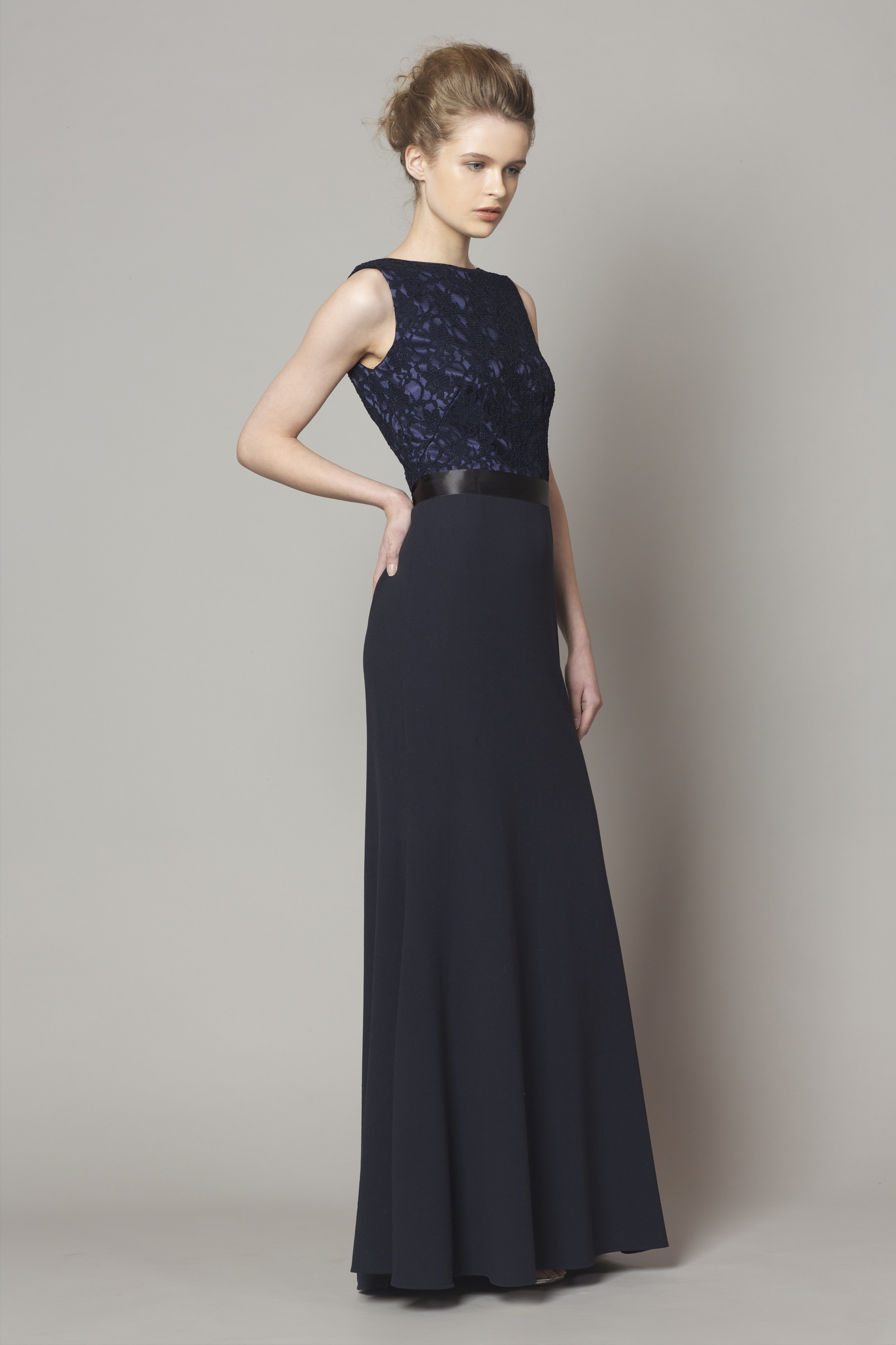 51731f4bcd52b Navy Lace top style DC1176 - Bridesmaid Evening   Debs Dresses from ...