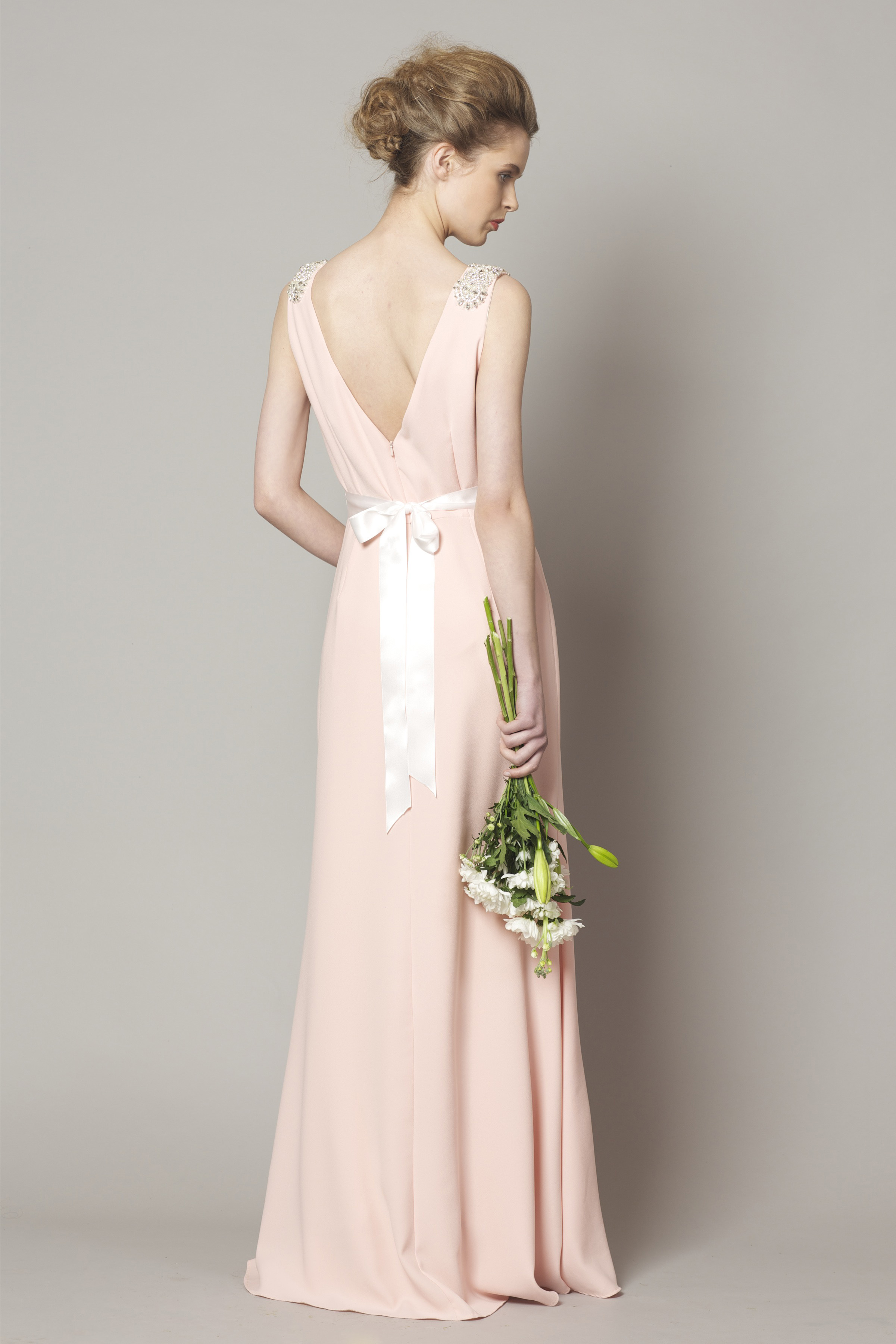 d10e15b7bbaf9 Salmon pink style DC1178 - Bridesmaid Evening   Debs Dresses from ...