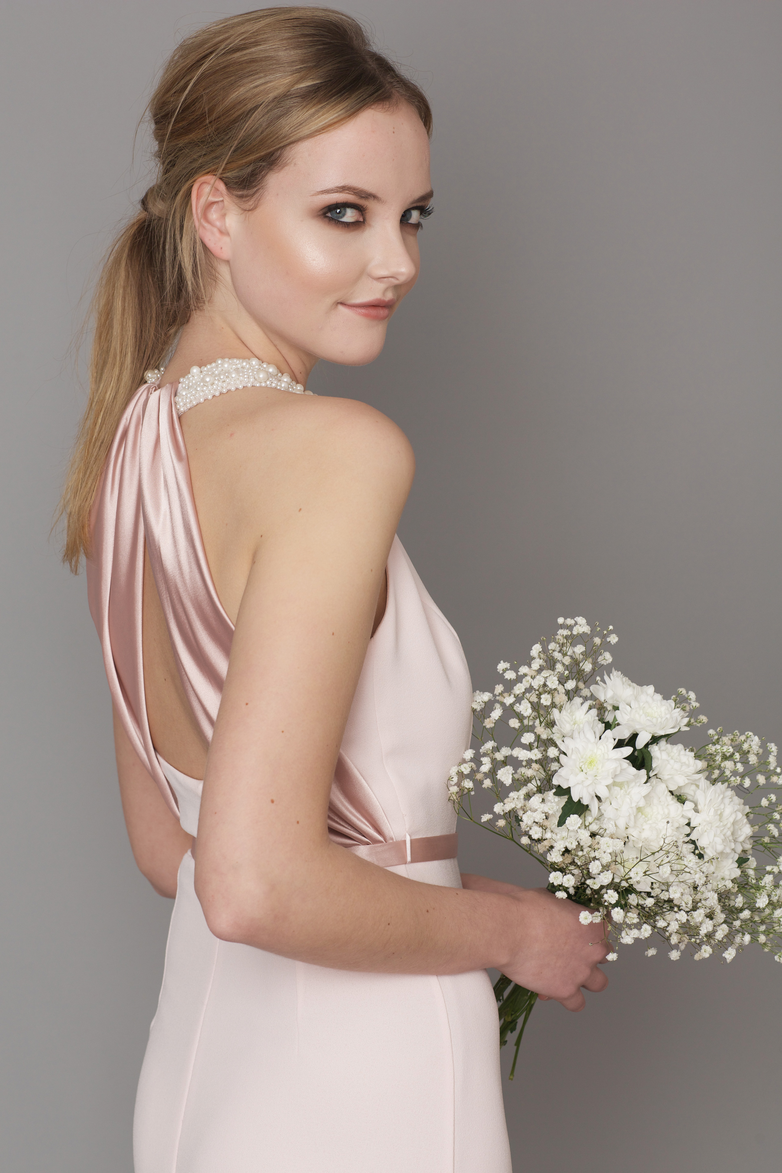 5f3f6e93f7fb2 DC1190 shell pink - Bridesmaid Evening   Debs Dresses from Dresscode