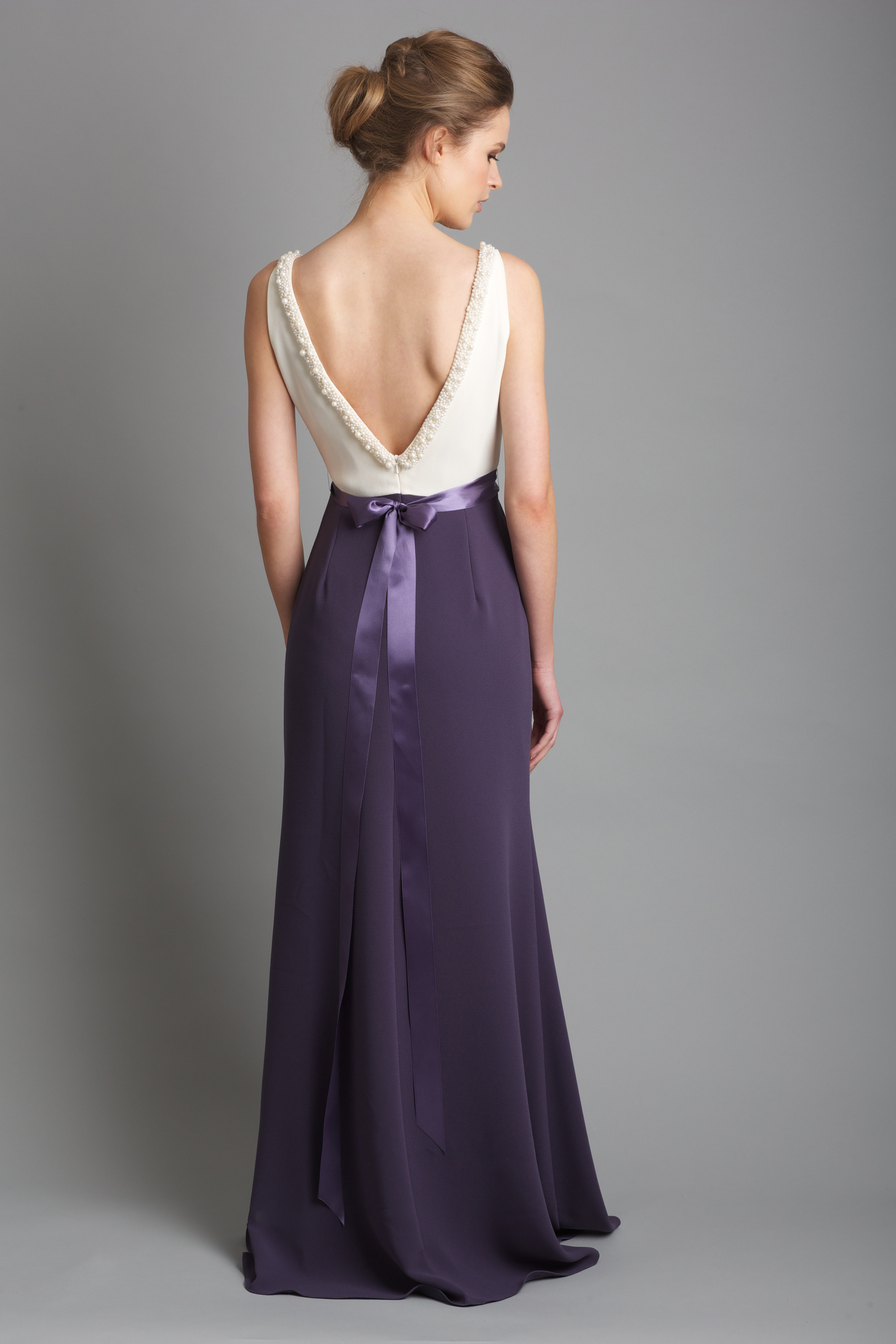 964792aef3767 3DC1188 two tone dress. €325.00. All Dresscode bridesmaid made to order  dresses ...